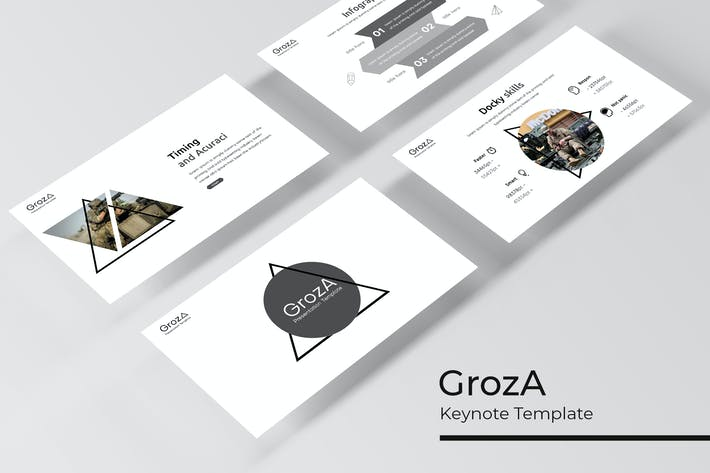Thumbnail for GrozA - Keynote Template