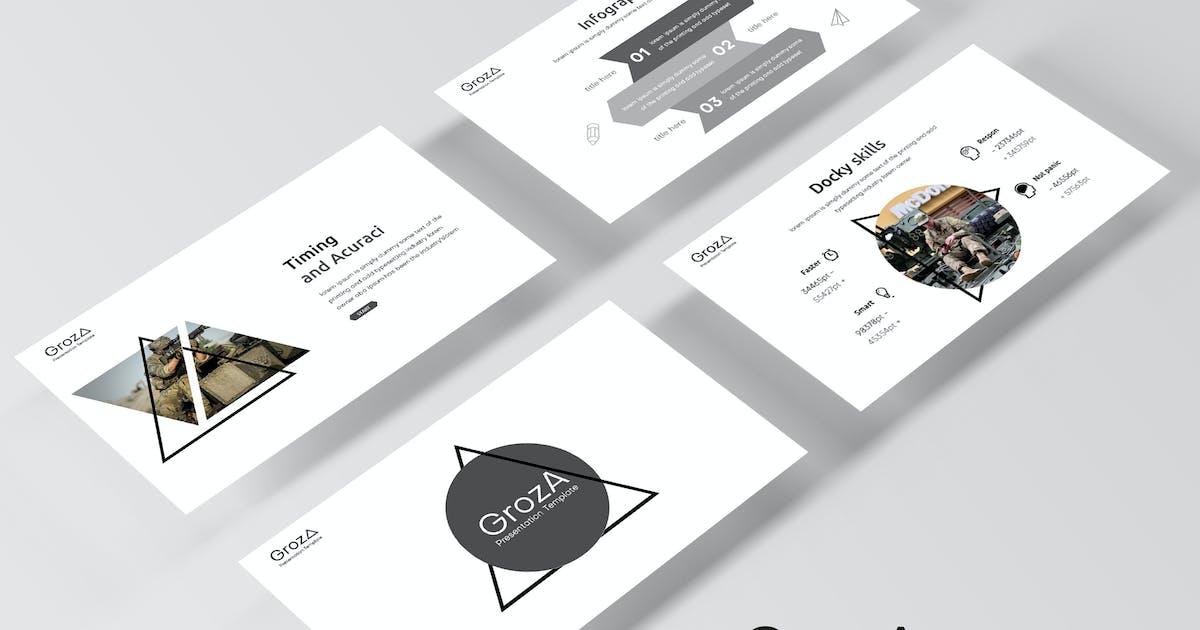 Download GrozA - Keynote Template by IanMikraz