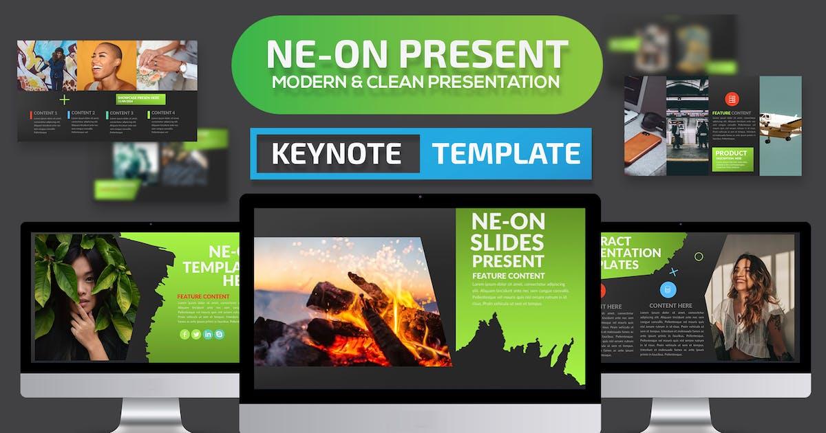 Download Ne-on Keynote Presentation Template by mamanamsai