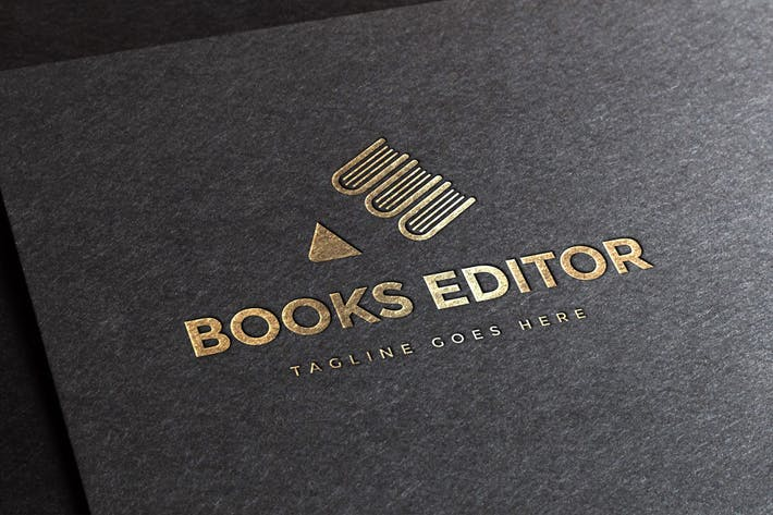 Thumbnail for Book Publisher Logo Template