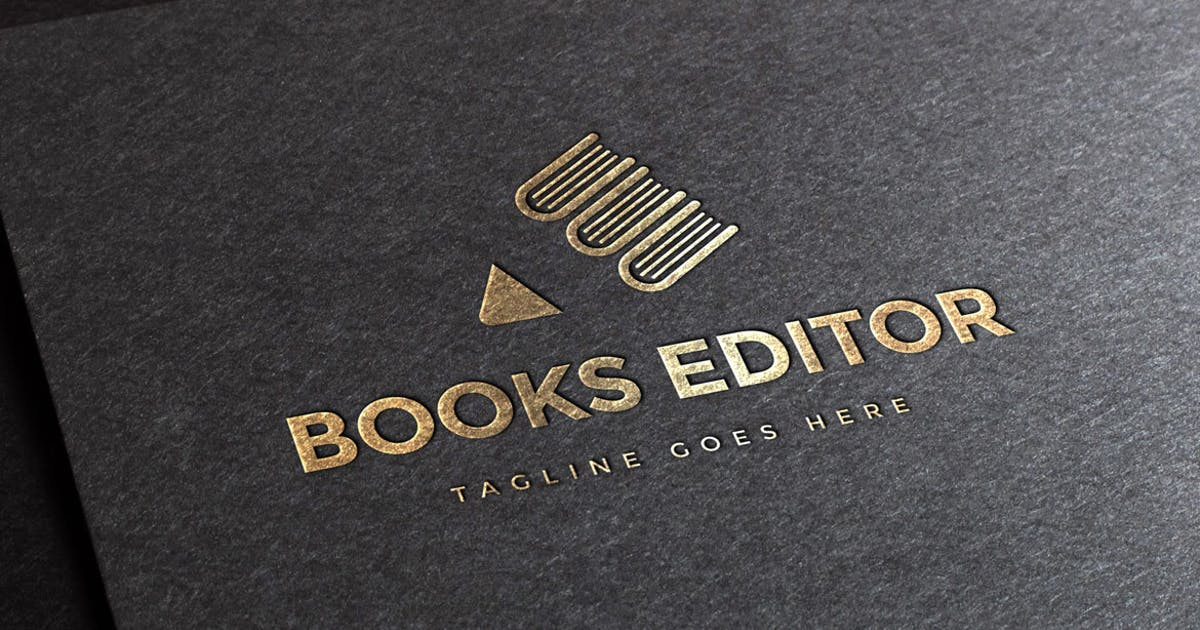 Download Book Publisher Logo Template by empativo