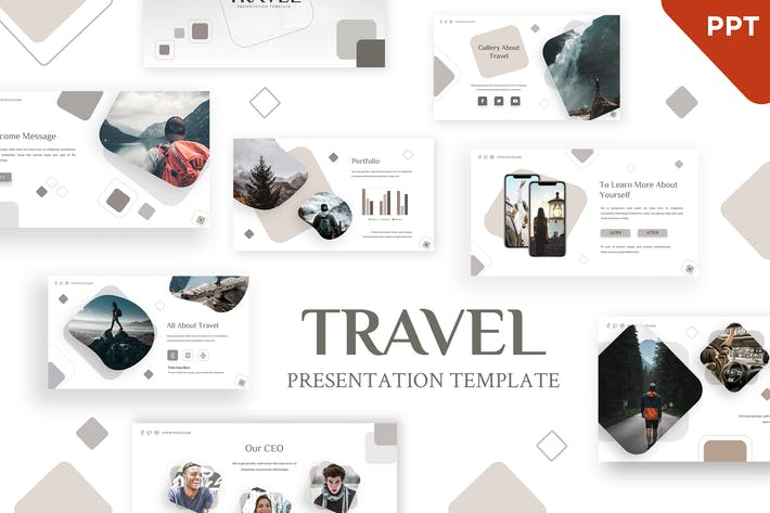 Thumbnail for Travel - Holiday Powerpoint Template