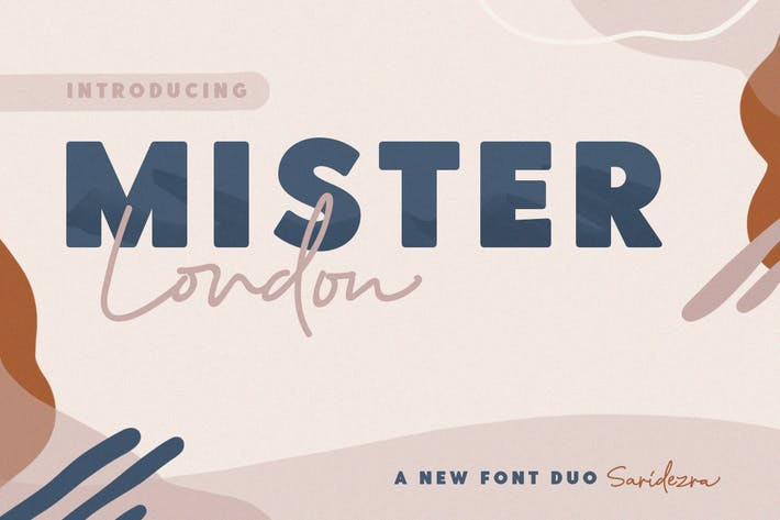 Thumbnail for Mister London - Bold Sans & Script
