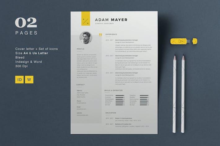 Thumbnail for Resume Adam