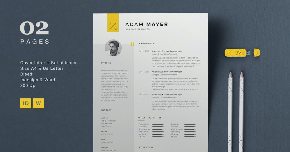 Download Resume Adam by sz81