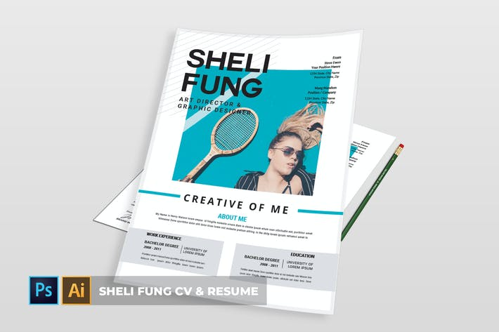 Cover Image For Sheli fung   CV & Resume