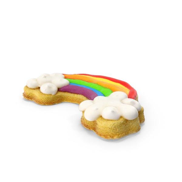 Радужное печенье