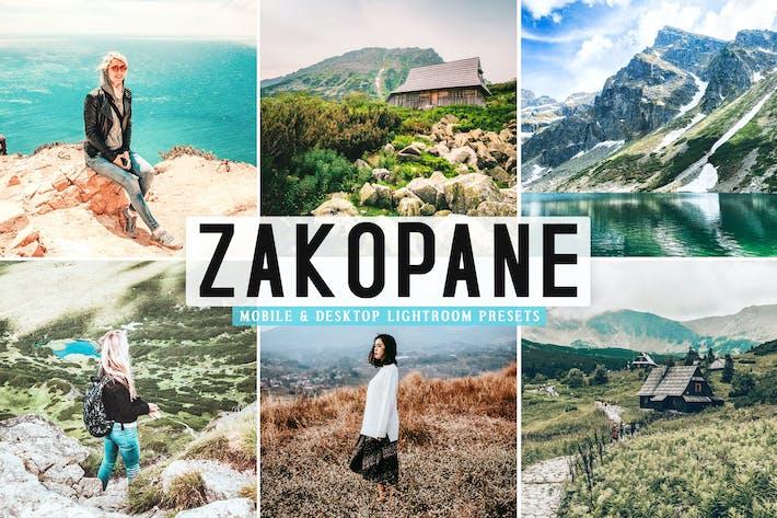 Thumbnail for Zakopane Mobile & Desktop Lightroom Presets