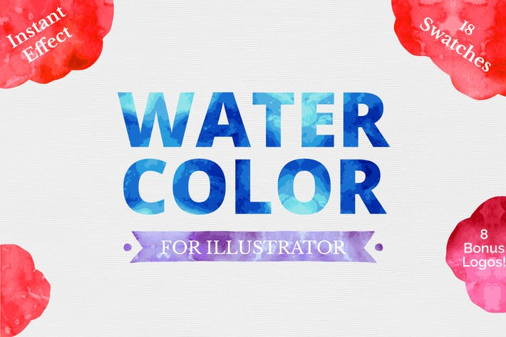 Thumbnail for Watercolor for Illustrator