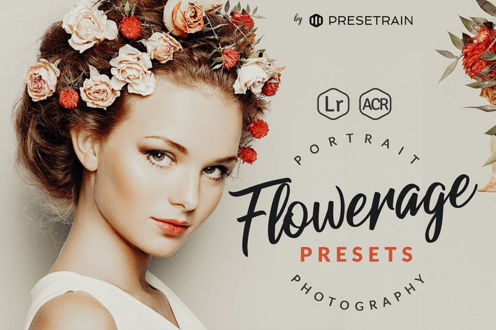 Cover Image For Flowerage Portrait Presets for Lightroom & ACR