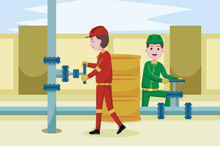 Oil Miner Profession
