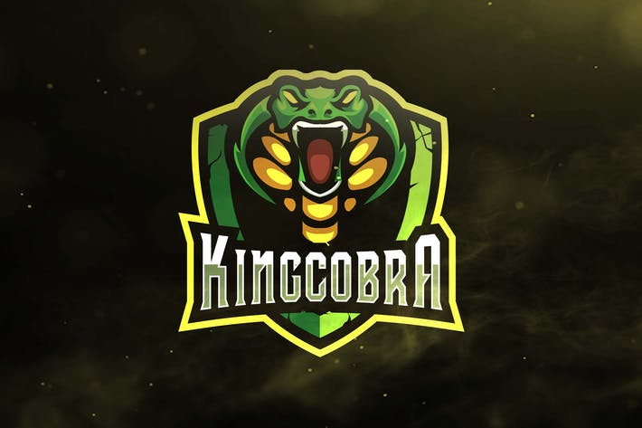 Thumbnail for The King Cobra Sport and Esports Logo