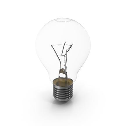 Bombilla incandescente E27 (Edison 27 mm)