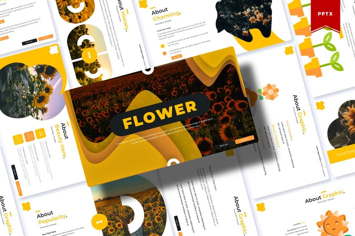 Thumbnail for Flower | Powerpoint Template