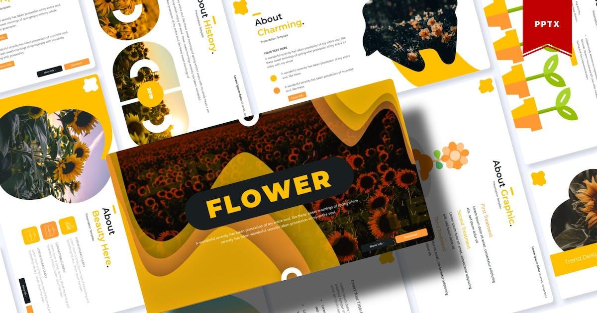 Download Flower | Powerpoint Template by Vunira