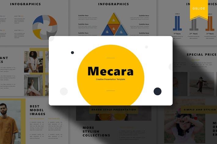 Mecara | Google Slides Template