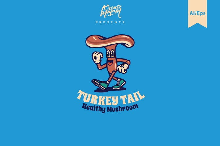 Thumbnail for Turkey Tail Logo Template
