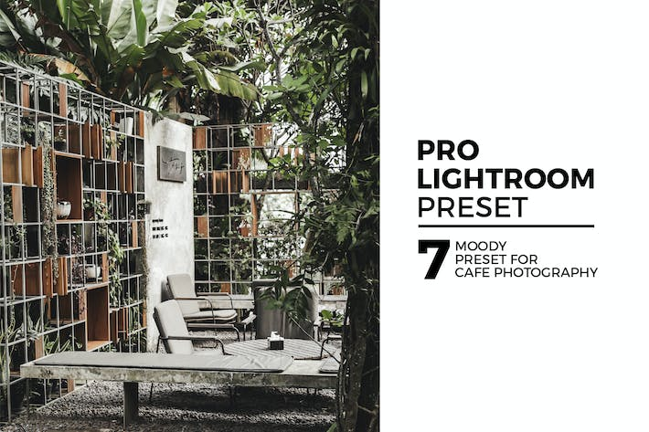 Thumbnail for 7 Moody Lightroom Preset For Cafe Photography