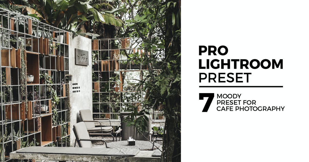 Download 7 Moody Lightroom Preset For Cafe Photography by kadekferryd