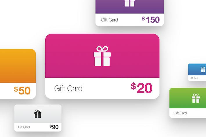 Cover Image For Color Gift Cards