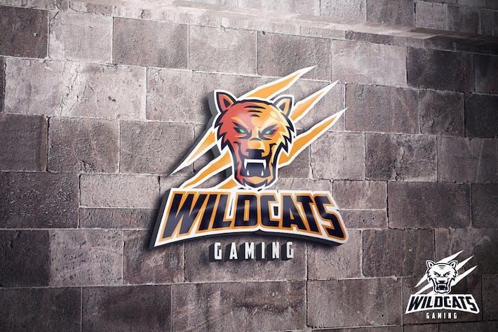 Thumbnail for Wildcats Puma Mascot Esports Logo