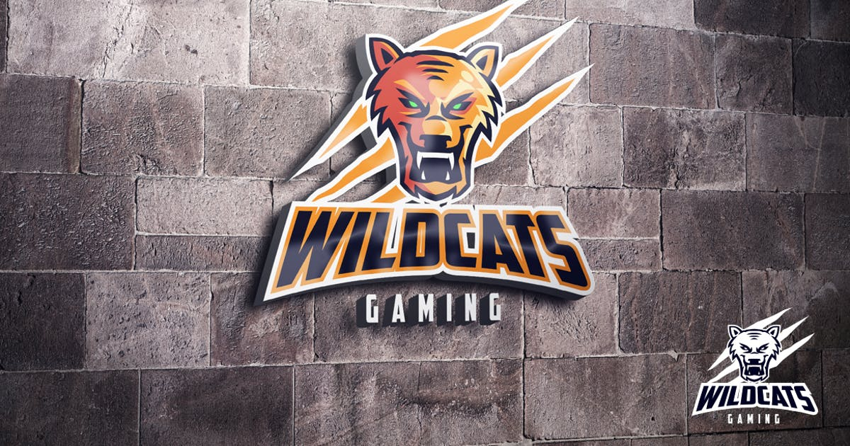 Download Wildcats Puma Mascot Esports Logo by Suhandi