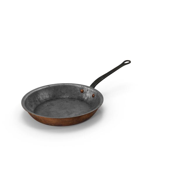 Cover Image for Old 10.2 Inch Skillet