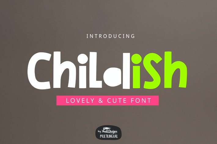 Thumbnail for Childish Font