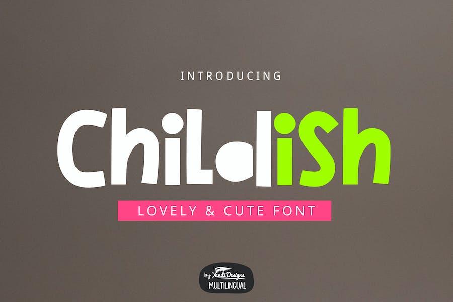 Childish Font