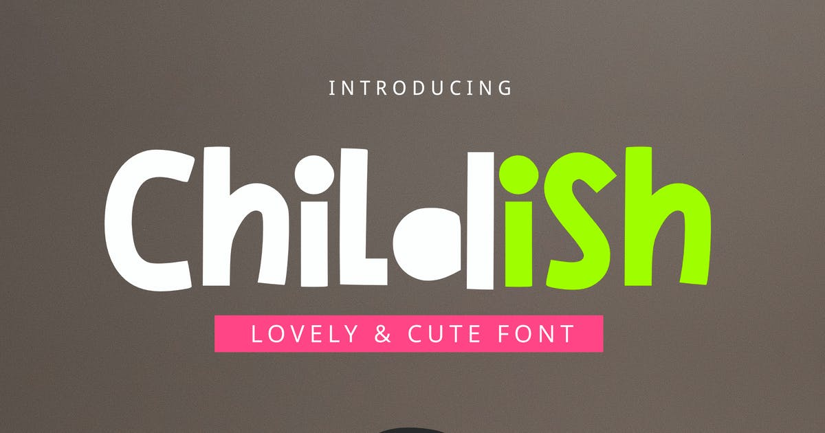 Download Childish Font by yandidesigns