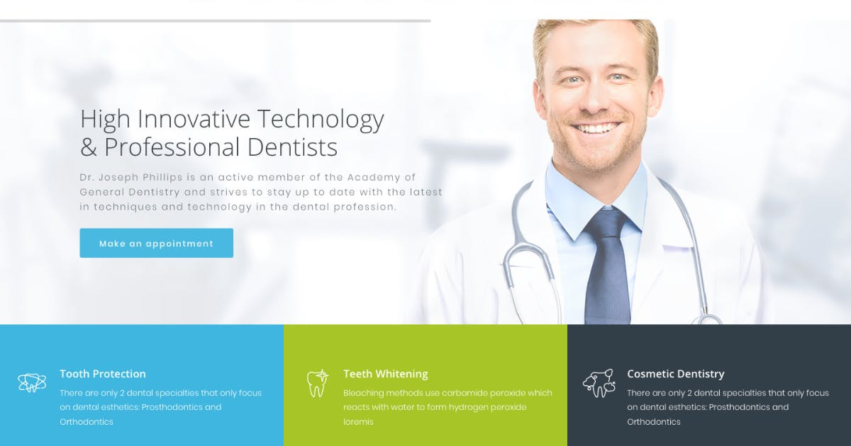Download Dentario | Dentist, Medical & Healthcare WP Theme by ThemeREX