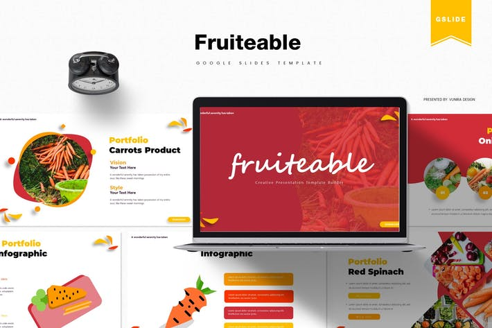 Thumbnail for Fruiteable | Google Slides Template