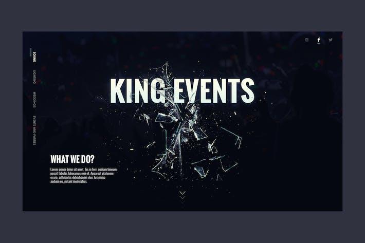 Thumbnail for Event Website Landing