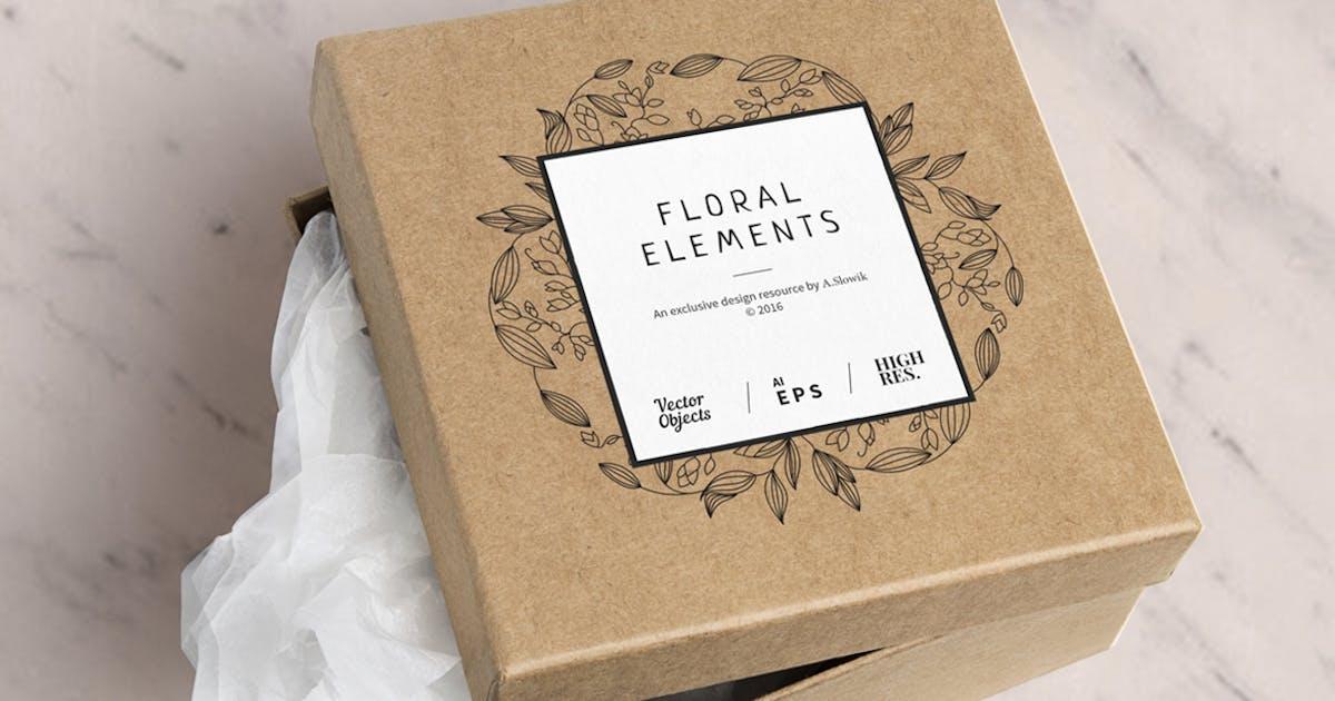 Download 12 Floral design elements/ Pro by a_slowik