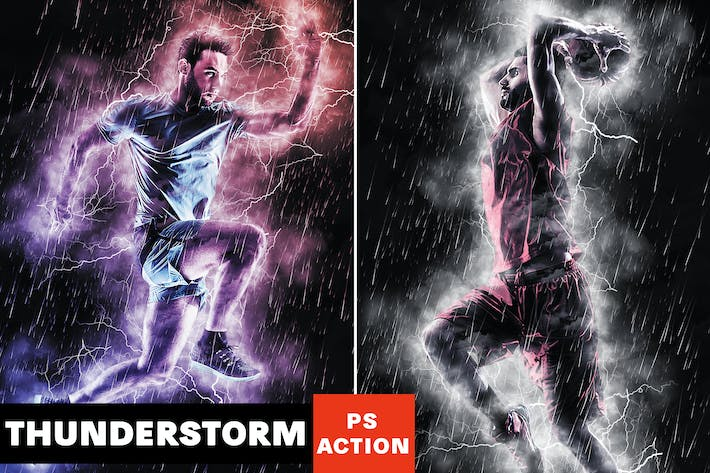 Thumbnail for Thunderstorm Photoshop Action
