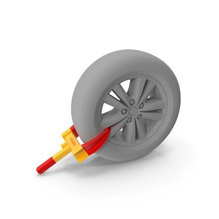 Anti Theft Tyre Parking Lock