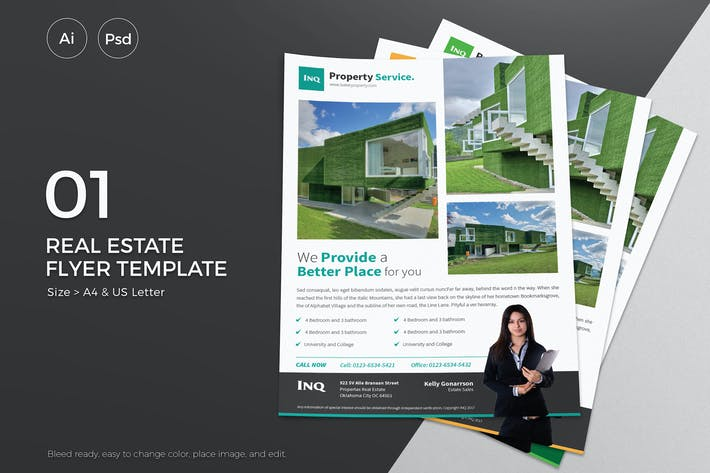 Thumbnail for Slidewerk - Real Estate Flyer 01