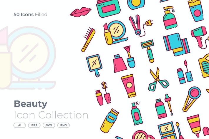 Thumbnail for Schönheit gefülltes Symbol