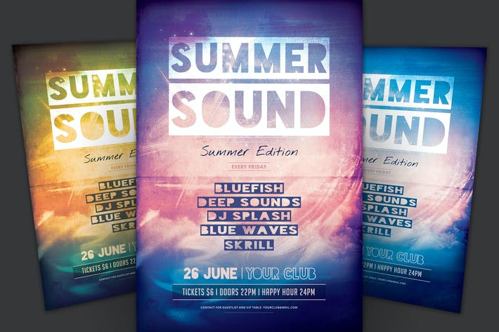 Thumbnail for Summer Sound Flyer