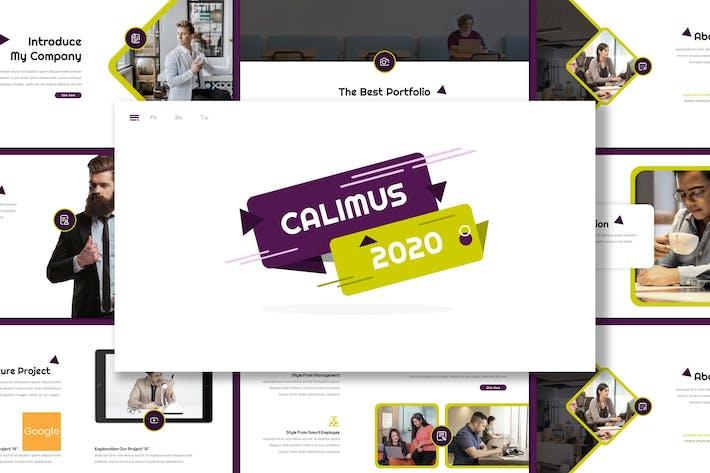 Thumbnail for Calimus - Multipurpose Google Slides Template