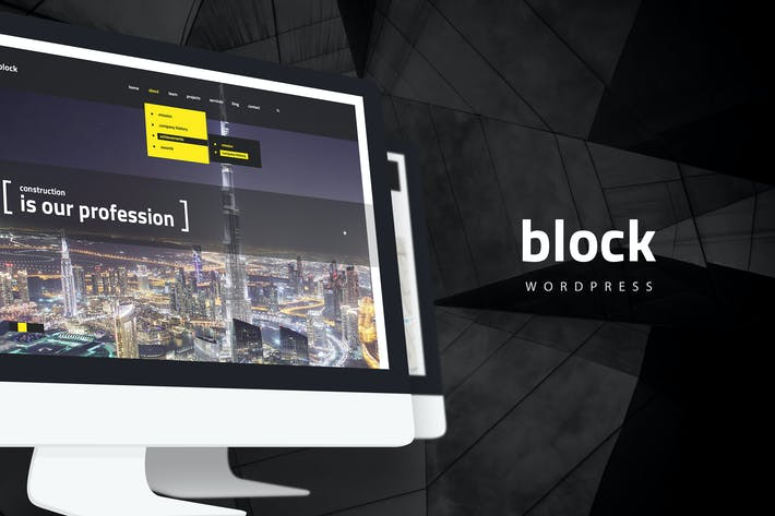 Thumbnail for Block — Construction, Architecture WordPress Theme