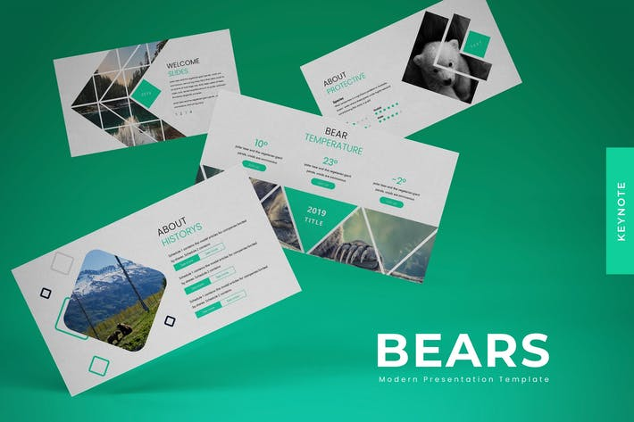 Thumbnail for Bears - Keynote Template