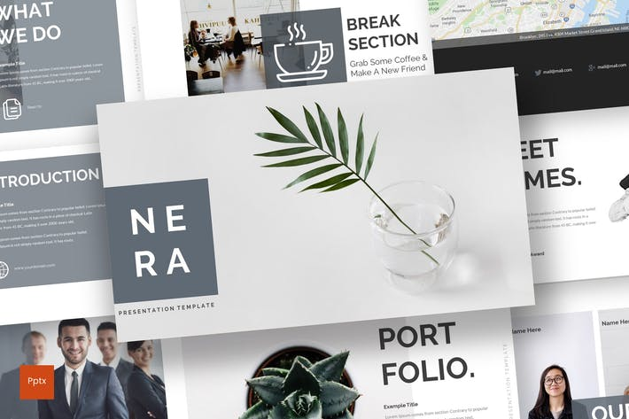 Thumbnail for Nera - Powerpoint Template