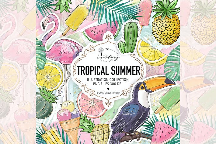 Thumbnail for Tropical Summer design