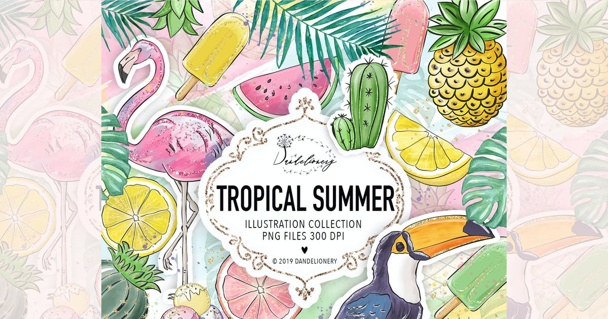 Download Tropical Summer design by designloverstudio