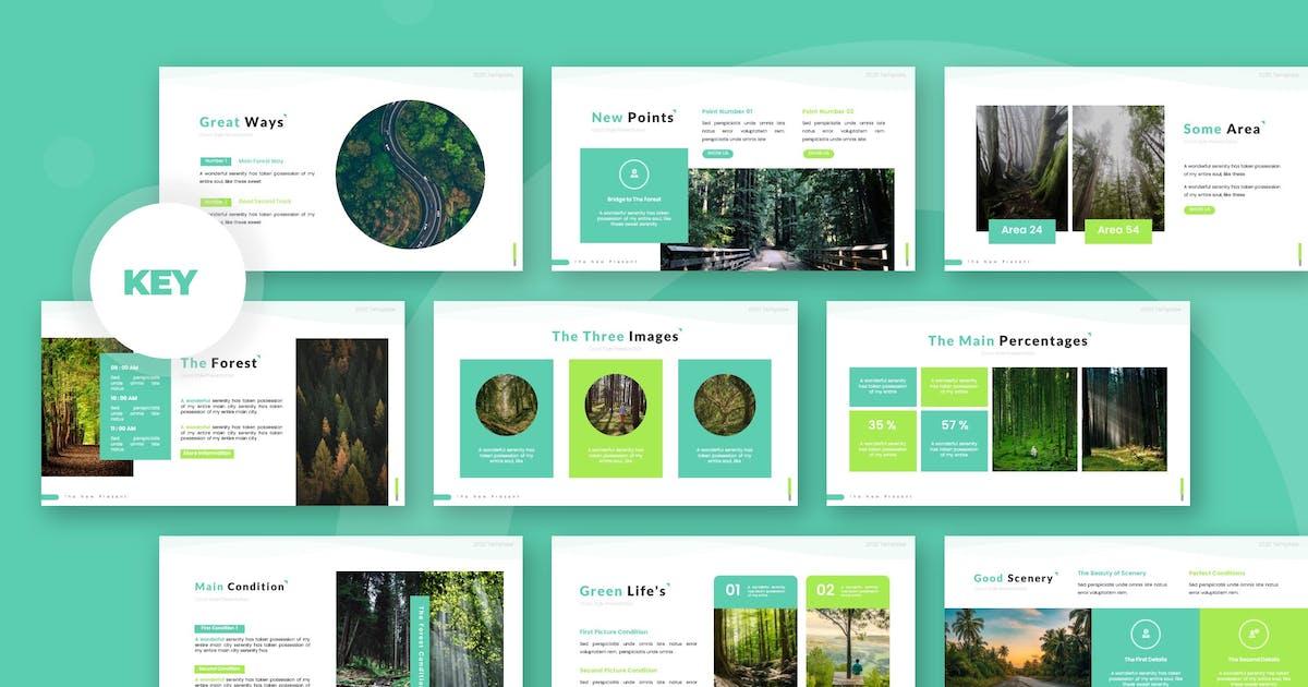 Download Forestrain - Keynote Template by karkunstudio