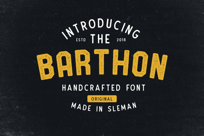 Thumbnail for Barthon Typeface Combo (7Fonts)!