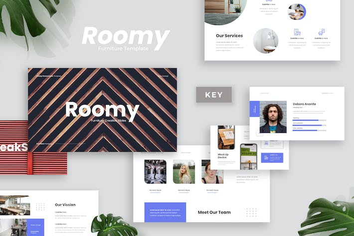 Thumbnail for Roomy - Furniture Presentation Template