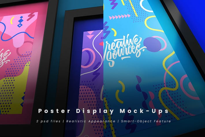Thumbnail for Posterdisplay Mock-Ups
