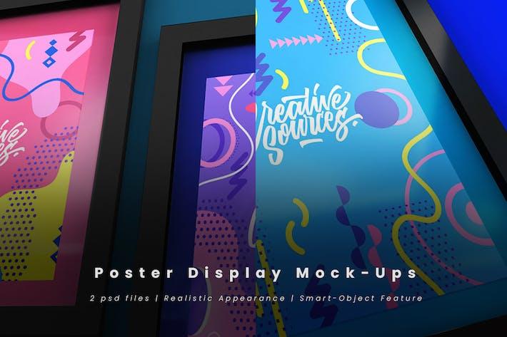 Thumbnail for Poster Display Mock-Ups
